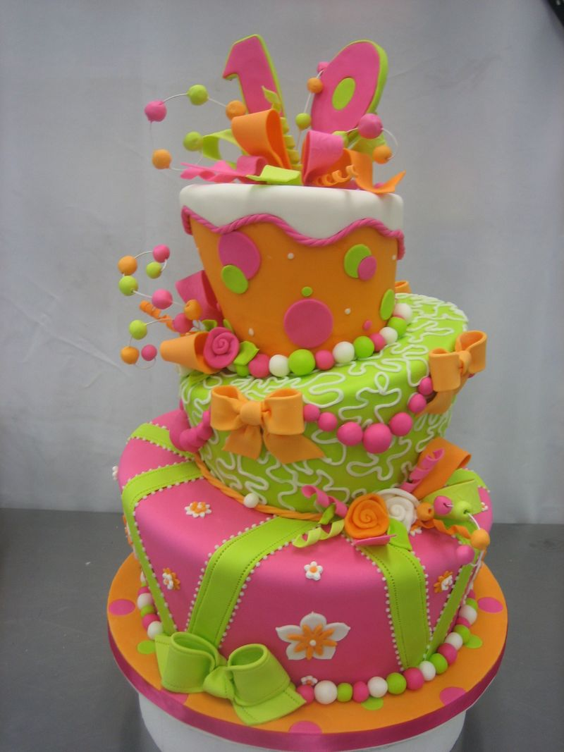 Cake Design Decoration : My Weblog/Sugar Seminars: Whimsy Cake Class August 24&25 ...