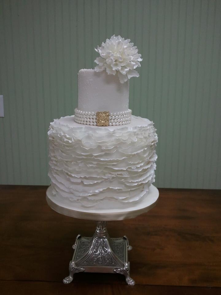 Savannah Custom Cakes ruffle cake resize
